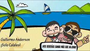 """Imagen del clip """"Solo Calales"""" de Guillermo Anderson"""