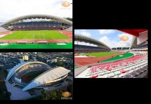Estadio Nacional de San José, Costa Rica. Fotos: televisadeportes.esmas.com