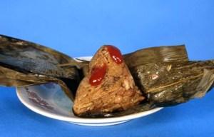 Tamal chino de arroz glutinoso